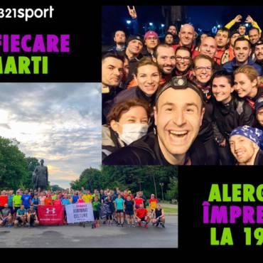 Povestea 321sport #dela1la21 continuă. Alergăm în fiecare marți!