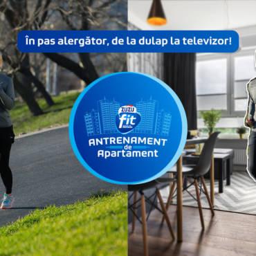 #AntrenamentDeApartament: campionii continuă să facă sport împreună cu Zuzu Fit