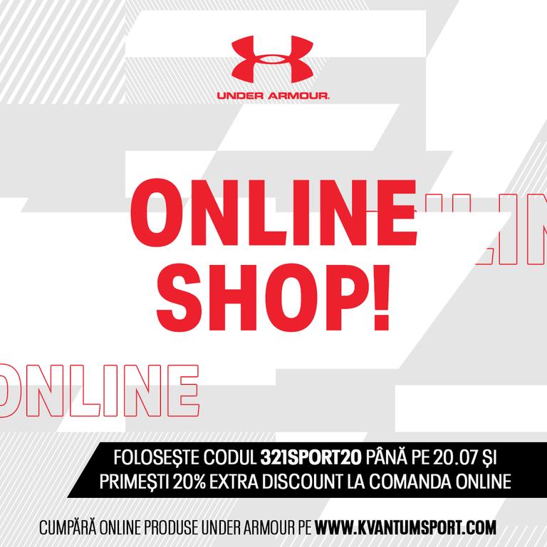 Start: S-a lansat magazinul online Under Armour! (+cod reducere)