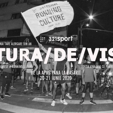 #TuraDeVis Summer Edition 2020: alergăm de la apus până la răsărit