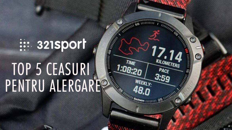 TOP 5 ceasuri pentru alergare