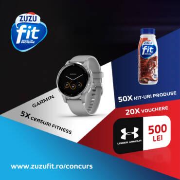Concurs Zuzu Fit: Pentru o viață sănătoasă, respectă promisiunile făcute propriului corp!