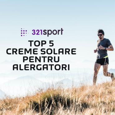 TOP 5 cele mai bune creme de protecție solară pentru alergători