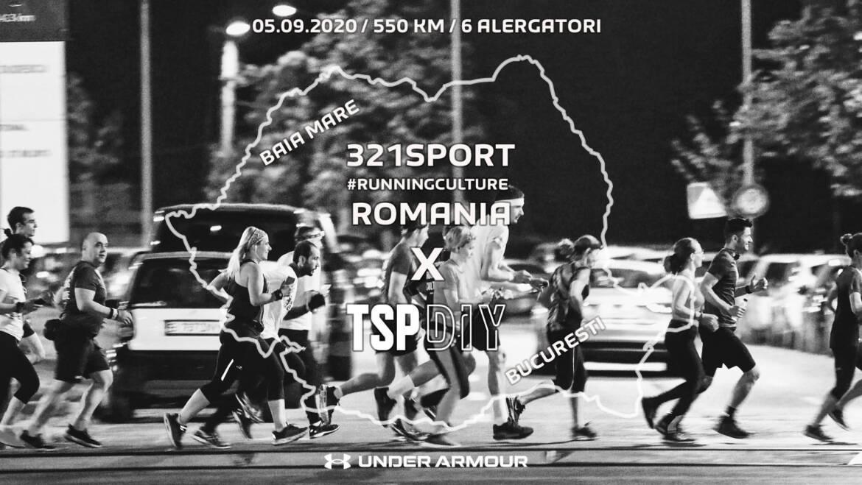 The Speed Project Romania: Baia Mare – București, 550km cu 321sport #RunningCulture