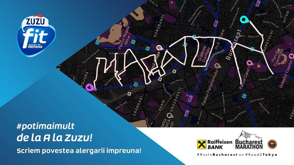 Provocarea Zuzu Fit la Bucharest Marathon 2020: scriem povestea alergării împreună!
